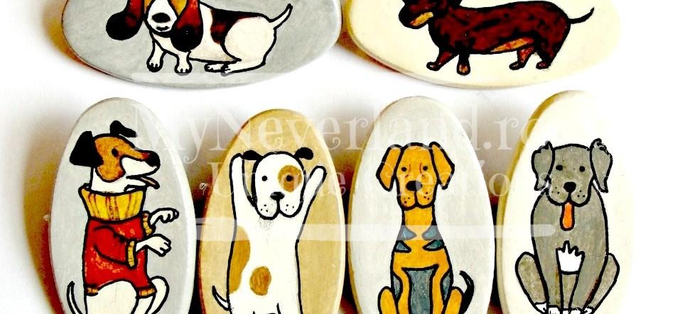 "Brose ceramica ""Nasty Dogs"""