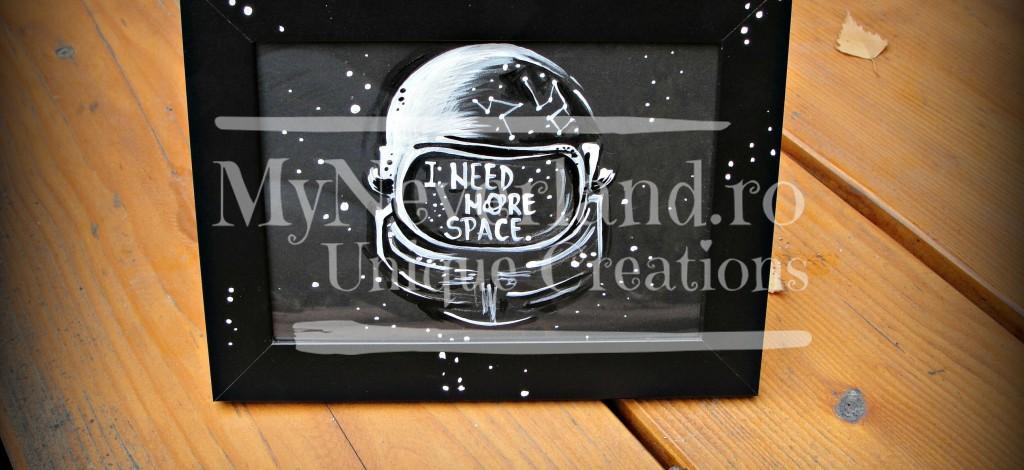 "Ilustratie ""More Space"""