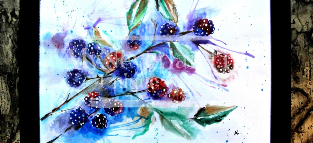 "Ilustratie ""Forest Fruits"""
