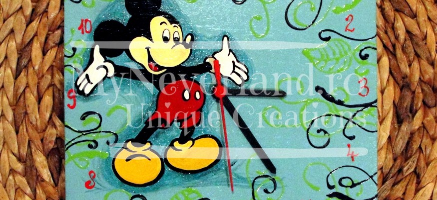 """Ceas de perete """"Mickey Mouse"""""""