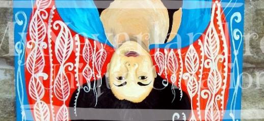"""Ilustratie """"World upside down"""""""