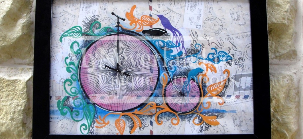 """Ilustratie """"Bicycle"""""""