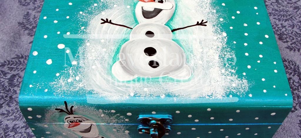 """Cutie pentru bijuterii """"Frozen"""""""