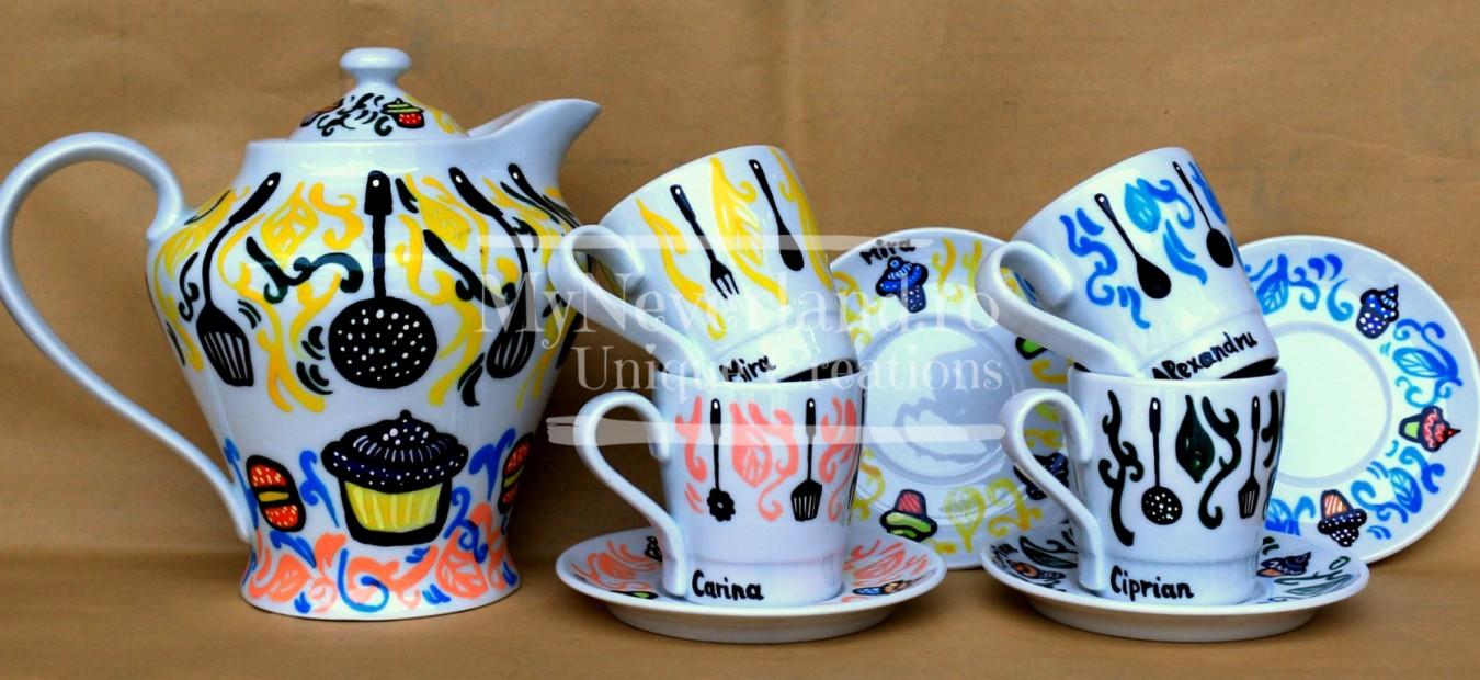 """Set ceai """"Kitchen"""""""