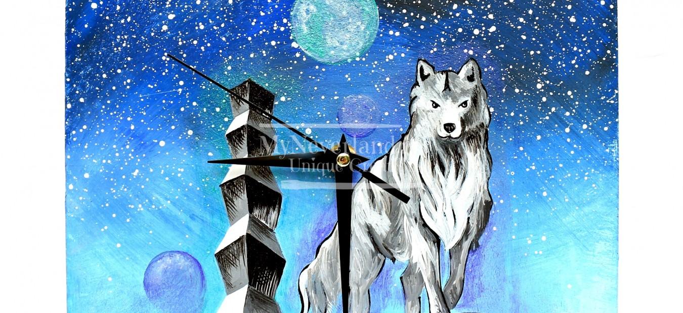 """Ceas perete """"Wolf"""""""
