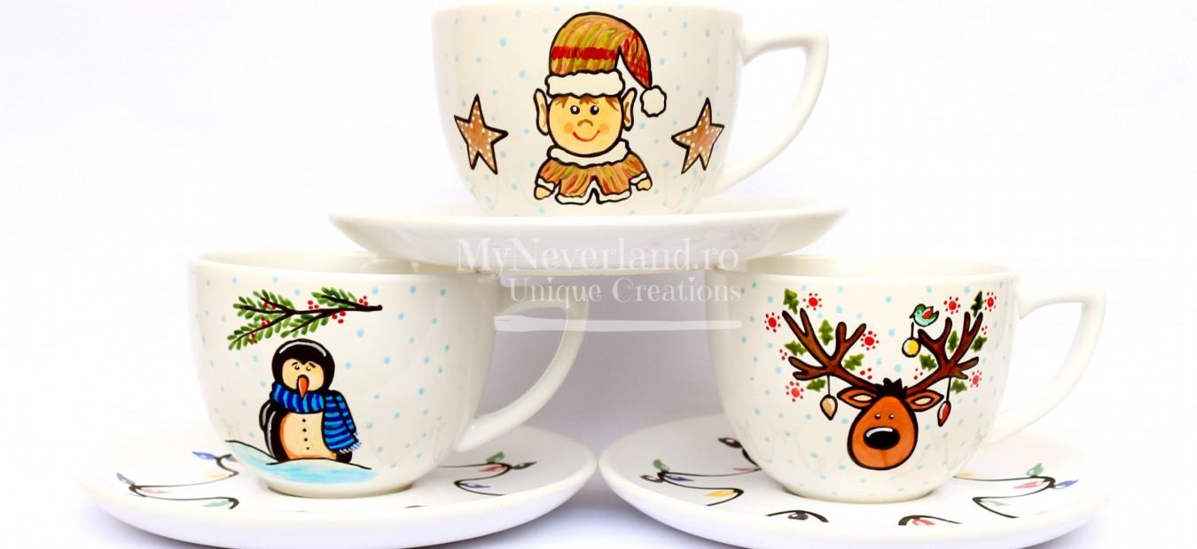 """Set cafea / ceai """"Magic Winter"""""""