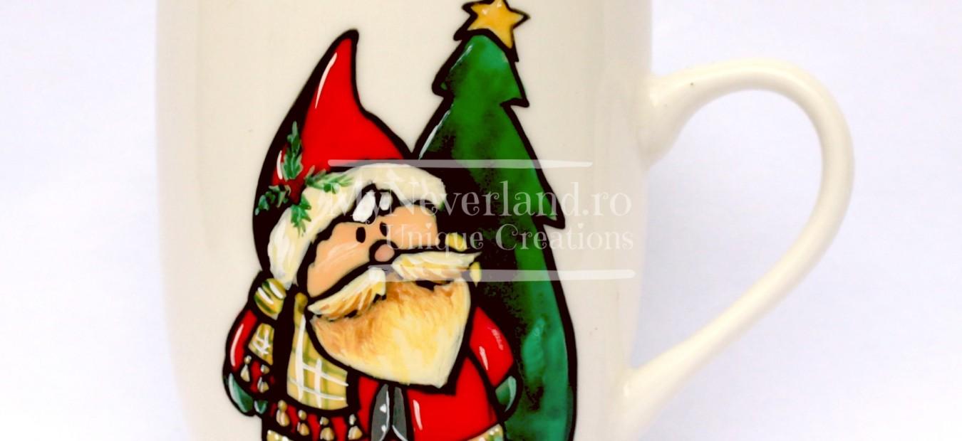 "Cana pictata ""Cute Santa"""