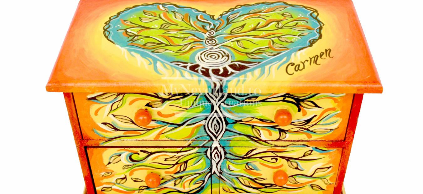 "Dulapior bijuterii ""Tree of Life"""