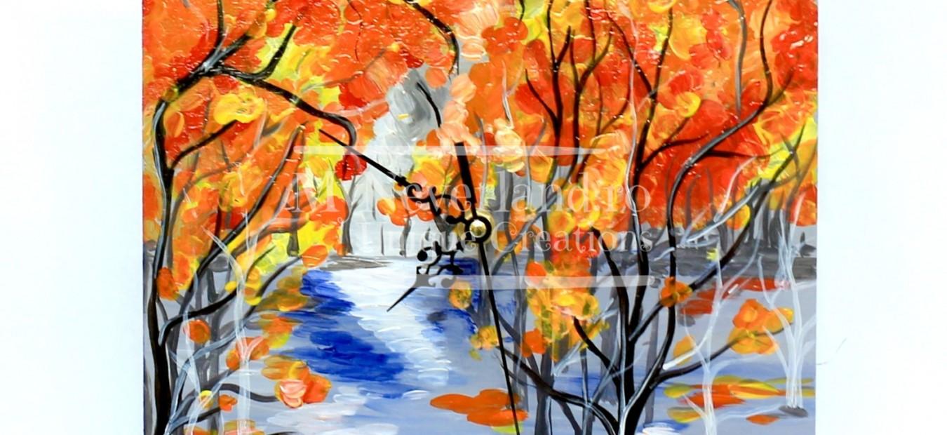 "Ceas de perete ""Autumn"""