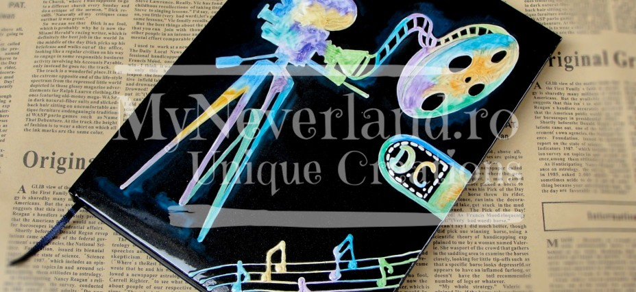 "Agenda personalizata ""Movies and Music"""