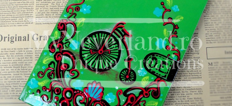 "Agenda personalizata ""Bicycle"""
