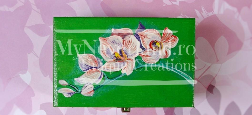 """Cutie pentru bijuterii """"Orchid"""""""