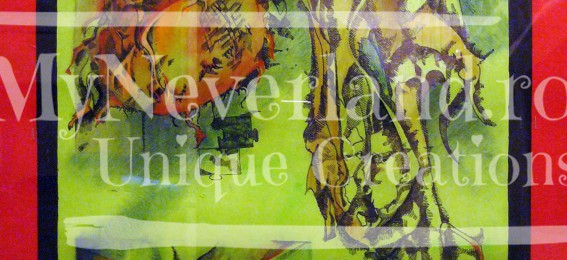 "Lucrare grafica ""Sun Flower 2"""