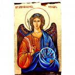 """Icoana Pictata manual """"Sfantul Arhanghel Mihail"""""""