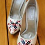 "Pantofi pictati ""Traditional Designs"""