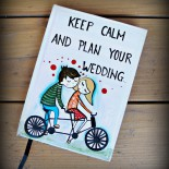 "Agenda Wedding Planner ""Keep Calm"""