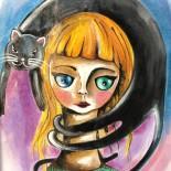 "Ilustratie ""Hat of Fur"""