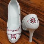 """Pantofi pictati """"Traditional Design"""""""