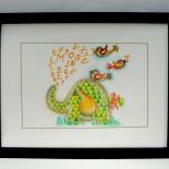 """Ilustratie camera copilului """"Literary Elephant"""""""