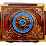 """Cutie de lemn pentru depozitare """"Hearthstone"""""""