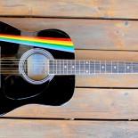 """Chitara acustica pictata """"Pink Floyd"""""""