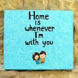 """Ilustratie """"Home"""""""