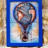 """Ilustratie """"Around the world"""""""