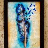 "Ilustratie ""Feather"""