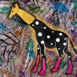 "Ilustratie ""Giraffe"""