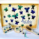 """Set  moț """"Blue Butterflies"""""""