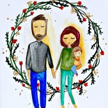 """Ilustratie """"Couple"""""""