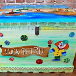 "Cufar personalizat ""Treasure Chest"""