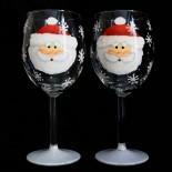 """Set pahare vin """"Santa"""""""
