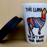 "Cana Coffee To Go ""Llama Drama"""