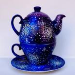 "Set ceai suprapus (Tea for One) ""Galaxy"""