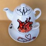 "Set ceai suprapus (Tea for One) ""Doctor"""