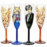 """Set pahare nunta """"Sailor Moon"""""""