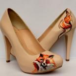 """Pantofi pictati """"Foxy Lady"""""""