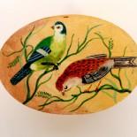 """Cutie verighete """"Vintage Birds"""""""
