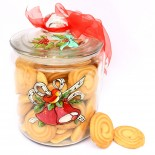 "Cookie Jar ""Red Bow"""