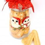"Cookie Jar ""Winter Owls"""