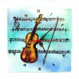 """Ceas de perete """"Violin"""""""