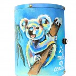 "Dulapior cilindric ""Koalas"""