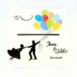"Cufar nunta ""Balloons"""