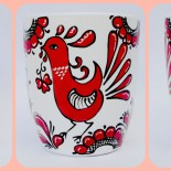 """Cani motive traditionale """"Roosters"""""""