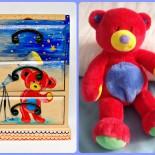 """Dulapior bijuterii """"Teddy Bear"""""""