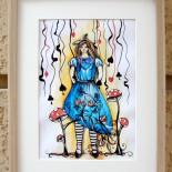"Ilustratie ""Alice in Wonderland"""