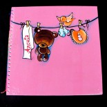 """Baby Book """"Pink"""""""