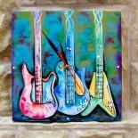 """Ceas de perete """"Guitars"""""""