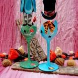 "Set pahare nunta ""Alice in Wonderland"""